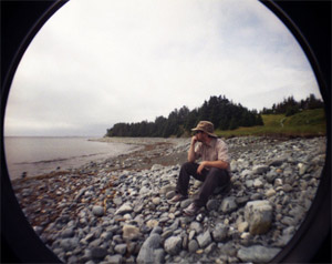 Mike at Chance Cove, NL - photo by Angelina Friskney, http://angelinafriskney.com